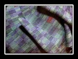 Superior Scarf Handwoven Tencel, Crackle Weave 58