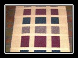 Levels Rug Handwoven Wool, Bound Weave 70